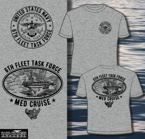 US Navy Med Cruise T-shirt