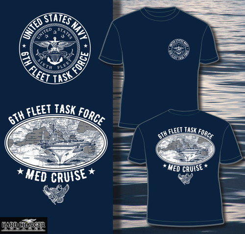US Navy Med Cruise Long sleeve T-shirt