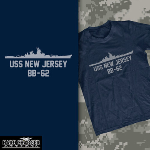 USS New Jersey T-shirt