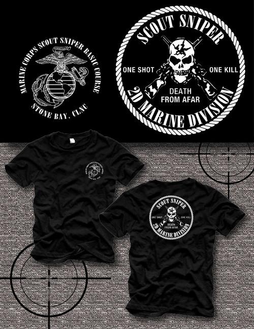 Scout Sniper School Crewneck Sweatshirt