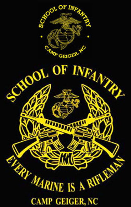 School of Infantry, Camp Geiger, NC Long Sleeve T- Shirt