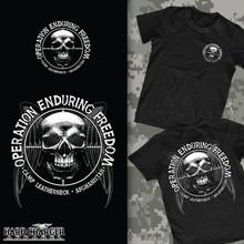 Operation Enduring Freedom Long Sleeve T- Shirt OEF2 376