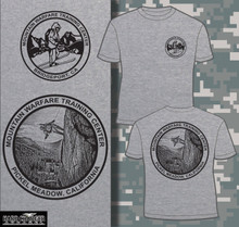 Mountain Warfare Training Center - Bridgeport, CA T-shirt
