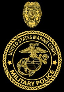 Marine Corps Military Police T-shirt - Hard Charger Apparel