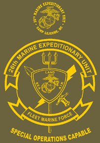 26th Marine Expeditionary Unit T-shirt