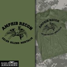 Marine Corps Amphibious Reconnaissance Long Sleeve T-shirt
