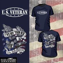 2nd Amendment - U.S. Veteran shirt
