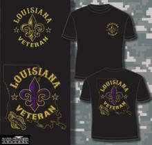 Louisiana Veteran T-shirt