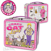 Crazy Cat Lady Lunch Box Accoutrements 26082