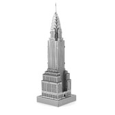 ICONX Chrysler Building 3D Laser Cut Model Fascinations 13146