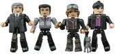 "Gotham ""Before The Legend"" Minimates s2 Gotham 4-pack Figures Diamond 31284"