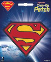 DC Comics Superman Logo Iron-On Patch Ata-Boy 10236