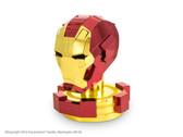 Metal Earth Avengers Iron Man Helmet 3D Metal  Model + Tweezers 33243