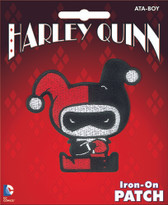 DC Comics Harley Quinn Iron-On Patch Ata-Boy 10274