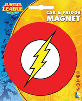 DC Comics The Flash Logo Car & Fridge Magnet Ata-Boy 10204