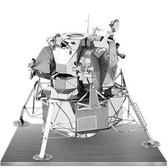 Metal Earth Apollo Lunar Module 3D Metal  Model + Tweezer  010787