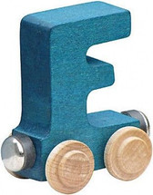 Name Train - Bright Color Childrens Wooden Trains Letter F