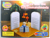 Trinity Toyz Moses and the 10 Building Block Set 380300