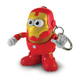 Mr. Potato Head Marvel PopTater Character Keychain Iron Man 01653