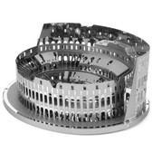 Metal Earth ICONX Roman Colosseum Ruins 3D Metal  Model + Tweezer 13252