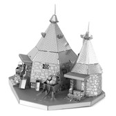 Metal Earth Harry Potter Rubeus Hagrid Hut 3D Metal Model + Tweezer 34417