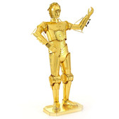Metal Earth Star Wars C-3PO 3D Metal Model + Tweezer 12705