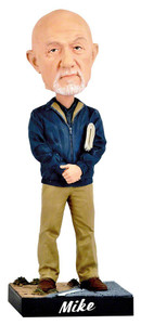 Royal Bobbles Royal Bobbles Better Call Saul Mike Ehrmantraut Bobblehead 11723