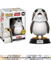 Pop Star Wars Ep 8 198 Porg CHASE Funko figure 48184