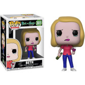 Pop Animation Rick and Morty 301 Beth Funko figure 29616