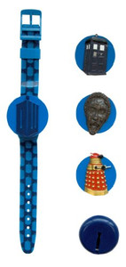Doctor Who Interchangeable Head LCD Watch Underground 233919