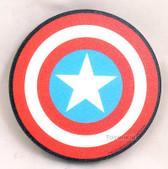 Marvel Magnet Captain America Shield NMR 95088