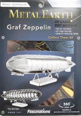 Metal Earth Graf Zeppelin 3D Metal  Model + Tweezer  010633
