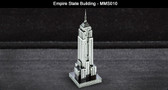Metal Earth  Empire State Building 3D Metal  Model + Tweezer  010107