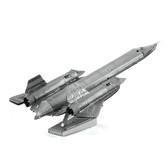 Metal Earth SR-71 Blackbird 3D Metal  Model + Tweezer  010626