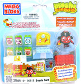 Moshi Monsters Megabloks Playset Seeds Cart 26 pieces 806184