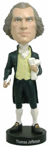 Royal Bobbles Founding Fathers Thomas Jefferson bobblehead figure 010061