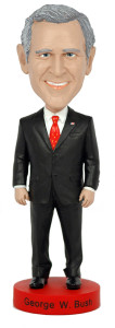 Royal Bobbles Presidents George W Bush bobblehead figure 010214