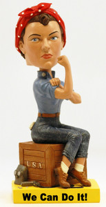 Royal Bobbles Rosie the Riveter bobblehead figure 010665