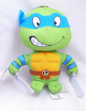 TMNT Plush Key Chain Leonardo Comic Images 542005