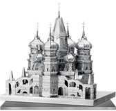 ICONX St. Basil's Cathedral 3D Laser Cut Model Fascinations 013061