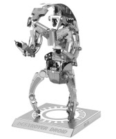 Metal Earth Star Wars Destroyer Droid 3D Metal  Model + Tweezer  012552
