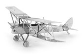 Metal Earth De Havilland Tiger Moth 3D Metal  Model + Tweezer  010664