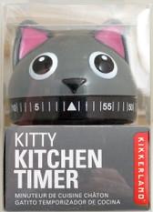 Kitty Kitchen Timer by Kikkerland 073852