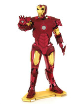 Metal Earth Avengers Iron Man 3D Metal  Model + Tweezer  33229