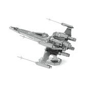 Metal Earth Star Wars Poe's X-Wing Fighter 3D Metal  Model + Tweezers 12699
