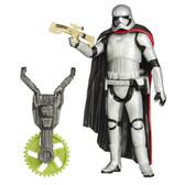 "Star Wars Force Awakens Forest Mission Captain Phasma 3.75"" figure Hasbro 45366"