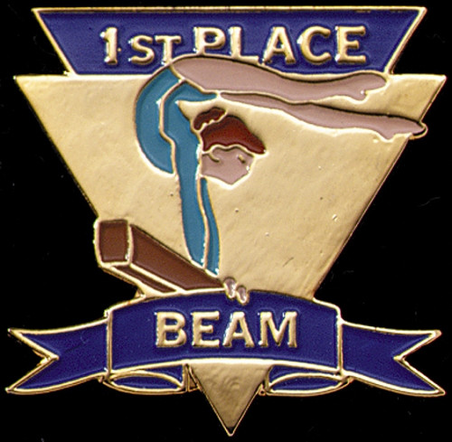 1st Place Beam-Women's Gymnastics