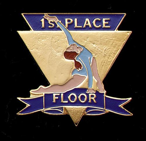 1st Place Floor-Women's Gymnastics