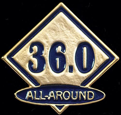 All-Around 36-Women's Gymnastics