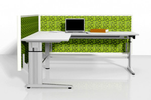 Ergo Manual Adjustable Height Workstations from